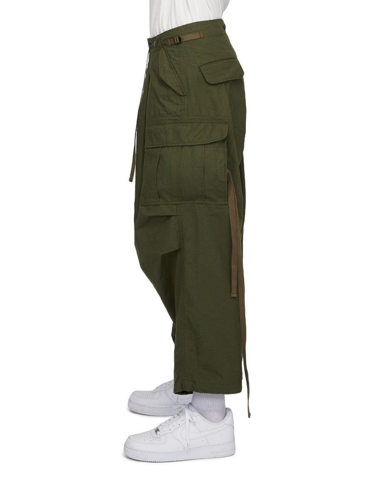 Lakh Supply Huge Pockets Cargo Pants - Olive