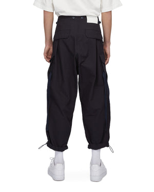 Lakh Supply Huge Pockets Cargo Pants - Navy