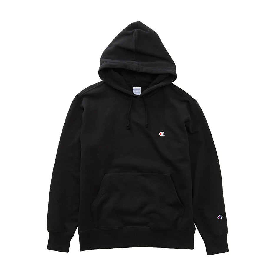 Champion Hood Small Logo -Black