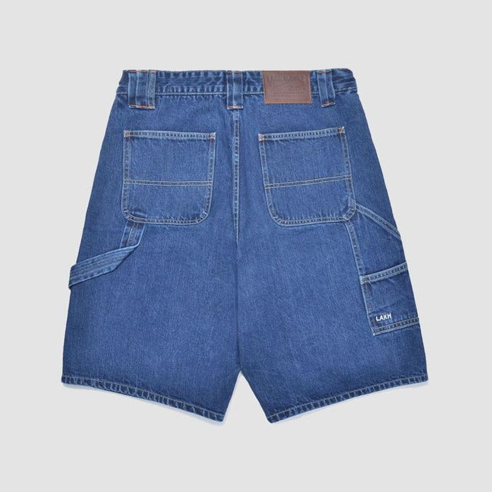 Lakh Worker Denim Shorts - Sky Blue