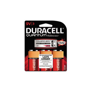 Duracell Quantum 9V 3 Pcs Battery