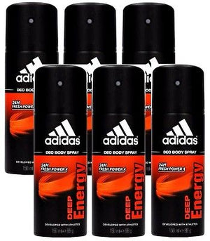Adidas Deep Energy Deodorant Body Spray 150ml