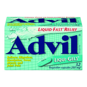 Advil 200 mg Liqui-Gels 32's