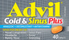 Advil Cold&Sinus NightTime 40's - Advil Cold & Sinus NightTime 40's