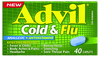 Advil Cold And Flu Caplets 40s - Advil Cold & Flu Caplets 40s