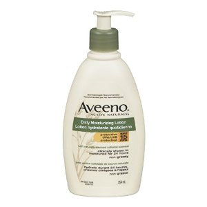 Aveeno Daily Moisturizing Lotion 354ml Protection SPF15