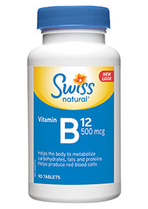 Vitamin B12 500mcg Tablet 90