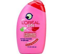 L'ORÉAL Kidsmoothie  Burst Of Strawberry 2in1 Shampoo