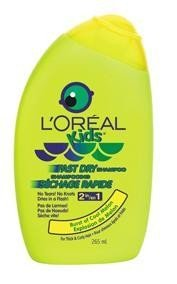 L'ORÉAL Kids Fast Dry Shampoo 2in1 Burst of cool Melon