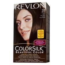 REVLON 33 Dark Soft Brown Colorsilk