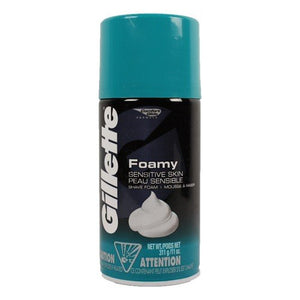 Gillette Foamy Sensitive Skin