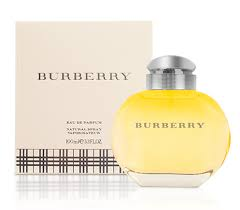 Burberry Eau de Perfume for women 100ml  3.4oz