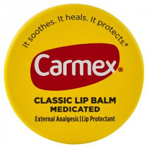 Carmex Classic Lip Balm Medicated 7.5g 0.25oz  (Pack of 12 pcs )