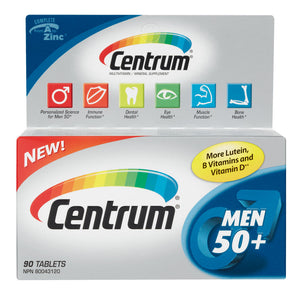 Centrum Men 50+ tablets 90's