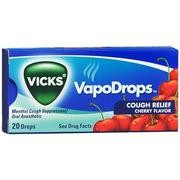 Vicks VapoDrops Cough Relief 20's Cherry