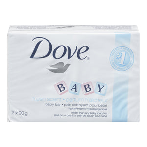 Dove Soap Baby Fresh Scent 2 x 90g