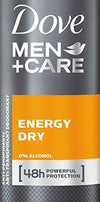Dove Men+ Care Energy Dry  Body Spray 48 150ml
