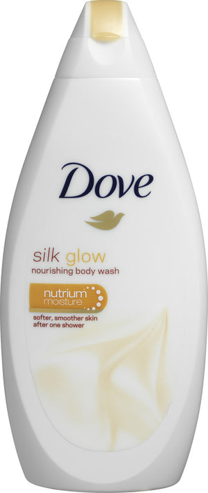 Dove Silk Glow Body Wash 500ml