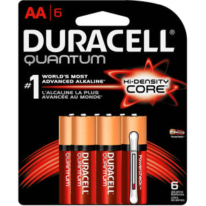 Duracell Quantum AA 6Pcs Battery