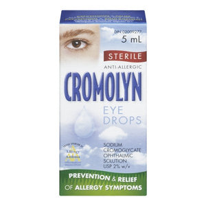 CROMOLYN Anti Allergic Sterile Eye Drops 5 ml