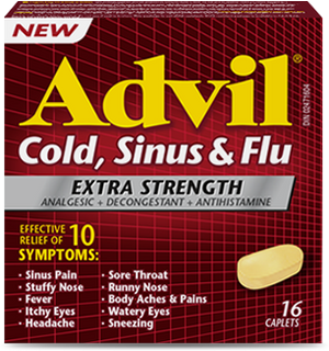 Advil Cold ,Sinus & Flu XSTR 16's