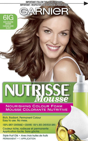 Garnire Nutrisse Mousse 61G Iced Golden Brown