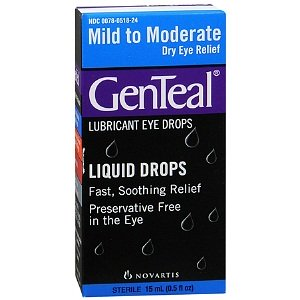 GENTEAL ARTIFICIAL TEARS 15ML