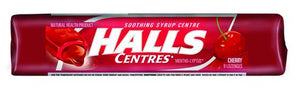Halls Centres Cherry 15Pack