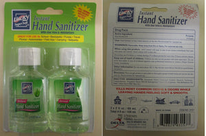LUCKY Instant Hand Sanitizer 2 x 59 ml