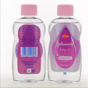 Johnson Baby Oil 200 ml