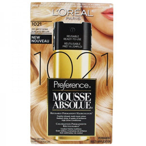 L'ORÉAL Preference Mousse 1021 Very Light Icy Blonde
