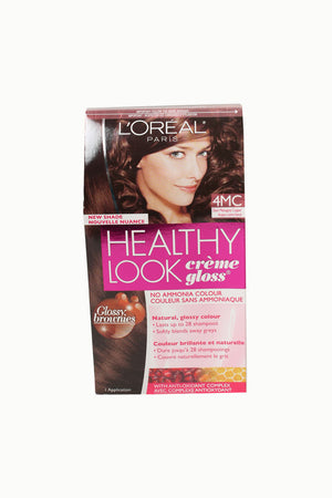 L'ORÉAL Healthy Look Dark Mahogany Copper 4MC