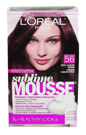 L'ORÉAL Sublime Mousse Spicy Auburn Brown   56 - L'ORÉAL Sublime Mousse Spicy Auburn Brown  56