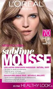 L'ORÉAL Sublime Mousse Pure Dark Blonde 70