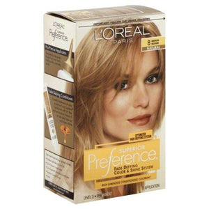 L'ORÉAL  SUPERIOR PREFERENCE 8 - L'ORÉAL  Superior Preference 8 Medium Blonde