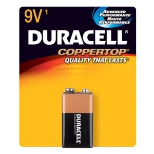 DURACELL Coppertop 9V 1 Pcs Battery