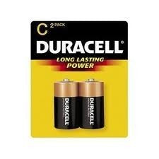 DURACELL Coppertop C 2 Pcs Battery