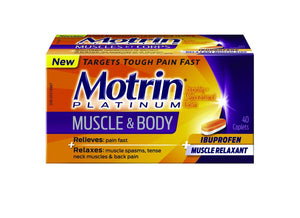 Motrin Platinum Muscle & body 40 caplets