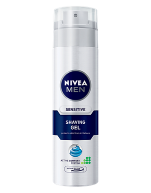 Nivea Men Shaving Gel Sensitive Skin 198g