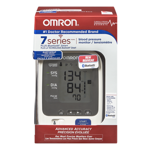 Omron Blood Pressure Monitor Upper Arm Plus Blus Bluetooth