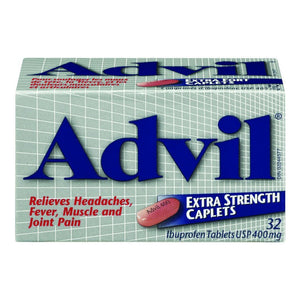 ADVIL Caplets Extra 32's , 400 mg