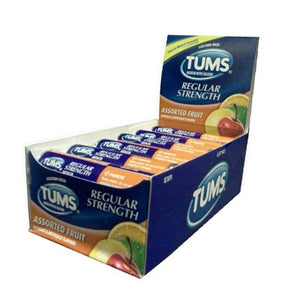 Tums Regular Strength Assorted Fruit