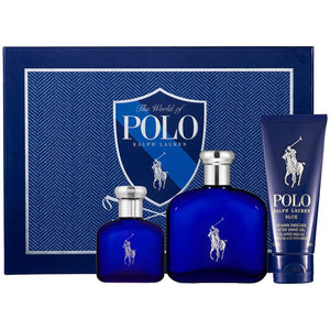 POLO BLUE SET 125ml + Free Deodorant 75gm
