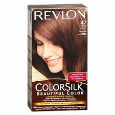 REVLON 47 Medium Rich Brown  - Revlon 47 Medium Rich Brown ColorSilk
