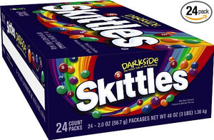 Skittles Darkside 24 pack x 56.7gm