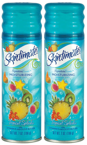 Skintimate Moisturizing Tropical Splash