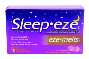 Sleep Eze Melts 25mg 16