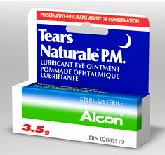 Tears Natural PM Lubricant Eye Ointment Tears 3.5 Gm