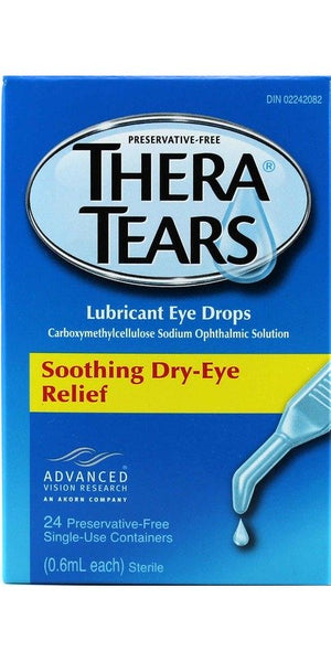Thera Tears Lubricant Eye Drops - Thera TEARS Lubricant Eye Drops 24 (.6ml each)