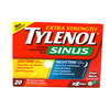 TYLENOL SINUS EXTRA STRENGTH DAY TABLETS 20'S - Tylenol Sinus Extra Strength Daytime Eztabs 20'S